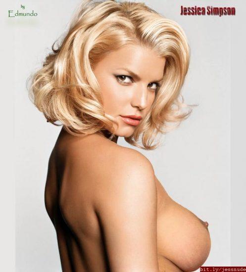 Jessica Simpson big boobs