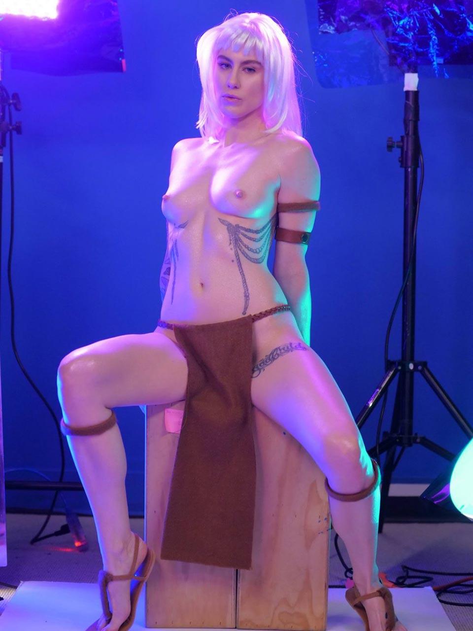 Comic book girl 19 naked