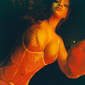 Rihanna hot deep cleavage