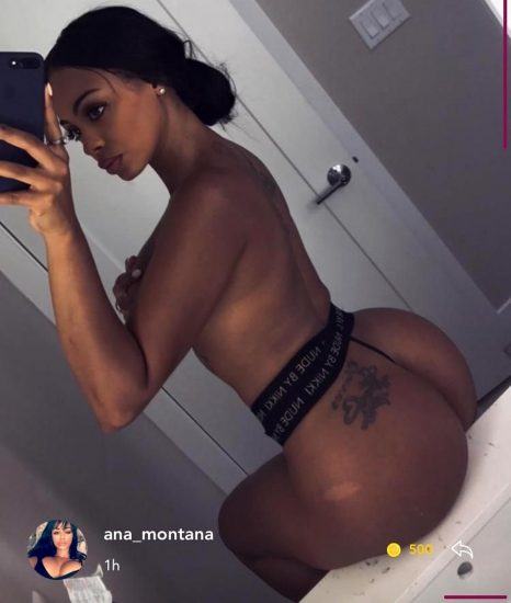 Analicia Chaves topless selfie