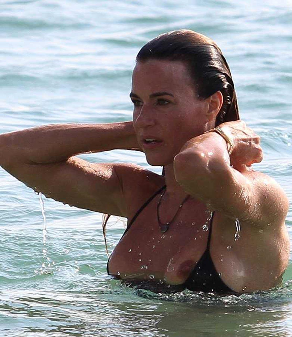 celebrity bikini Bad