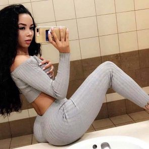 Brittany Renner Nude LEAKED Pics And Sex Tape Porn 27