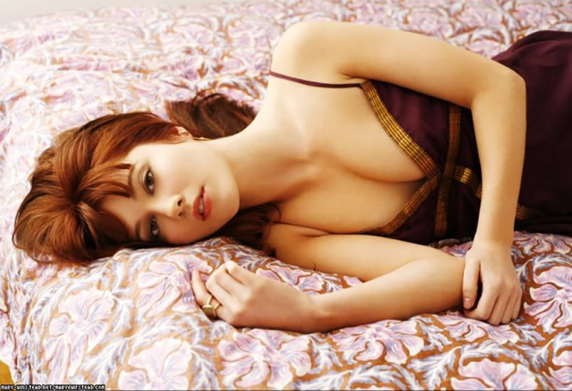Mary Elizabeth Winstead hot in bed