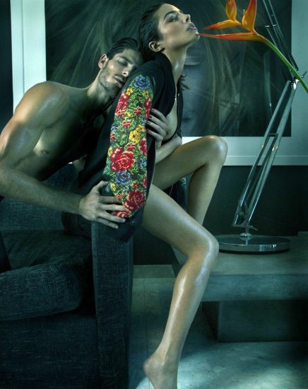 Olivia Culpo nude with man