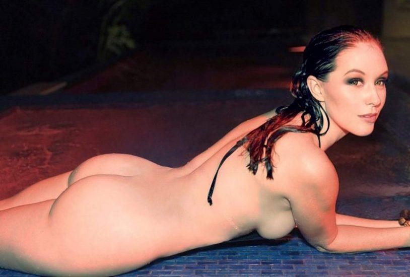 Meg Turney nude lying