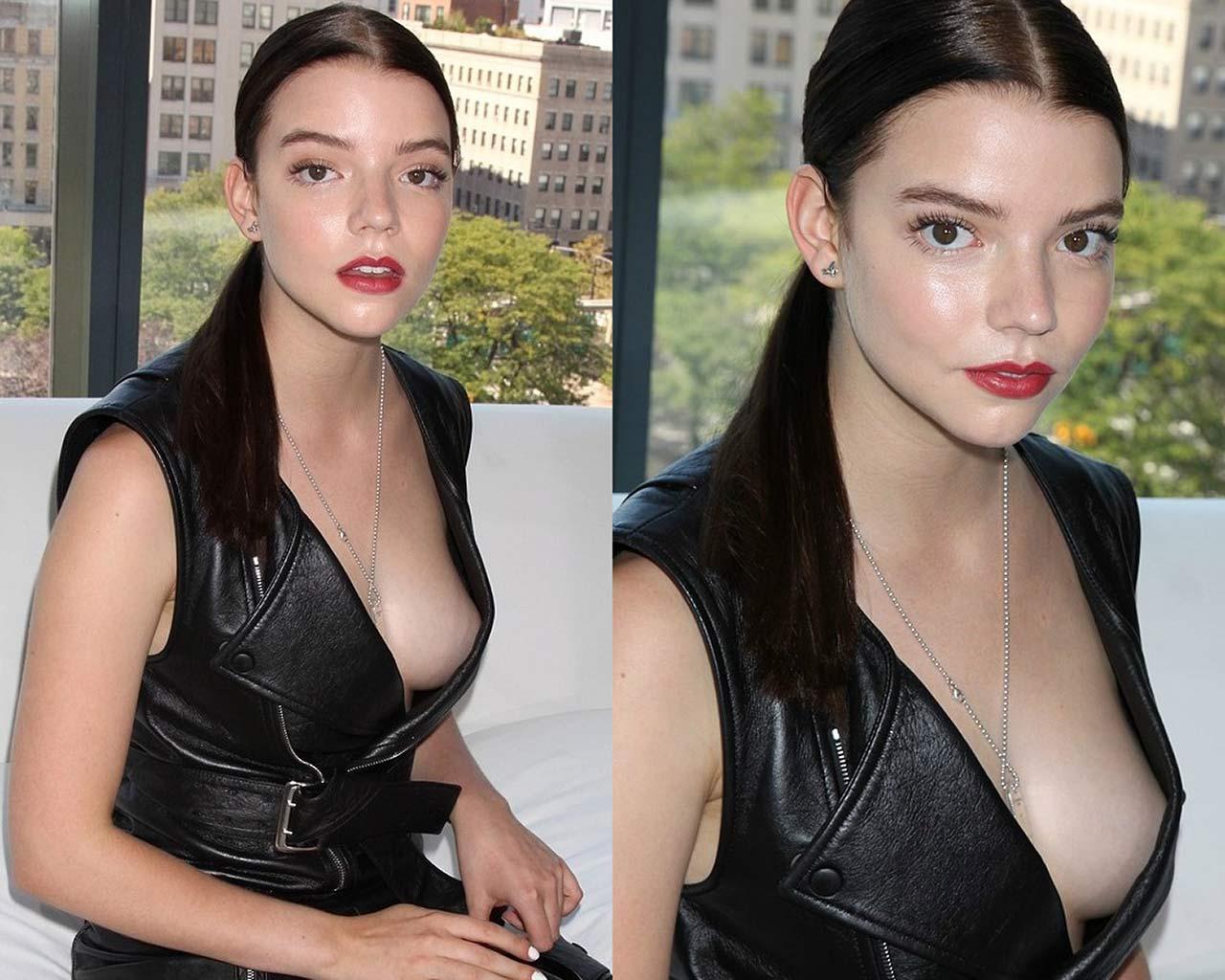 Anya Taylor Joy Nude & Sexy Photos Collection 35