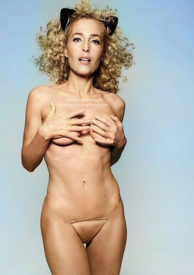 Gillian Anderson Nude LEAKED Photos And Topless Sex Scenes 11