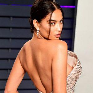 Shanina Shaik Naked Tits and Pussy at Oscars Party