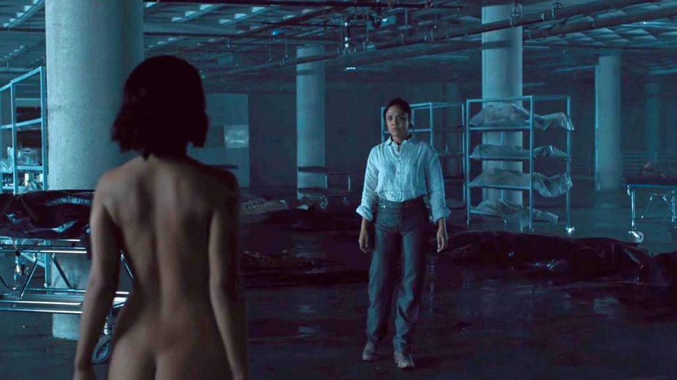 Tessa Thompson nude scene