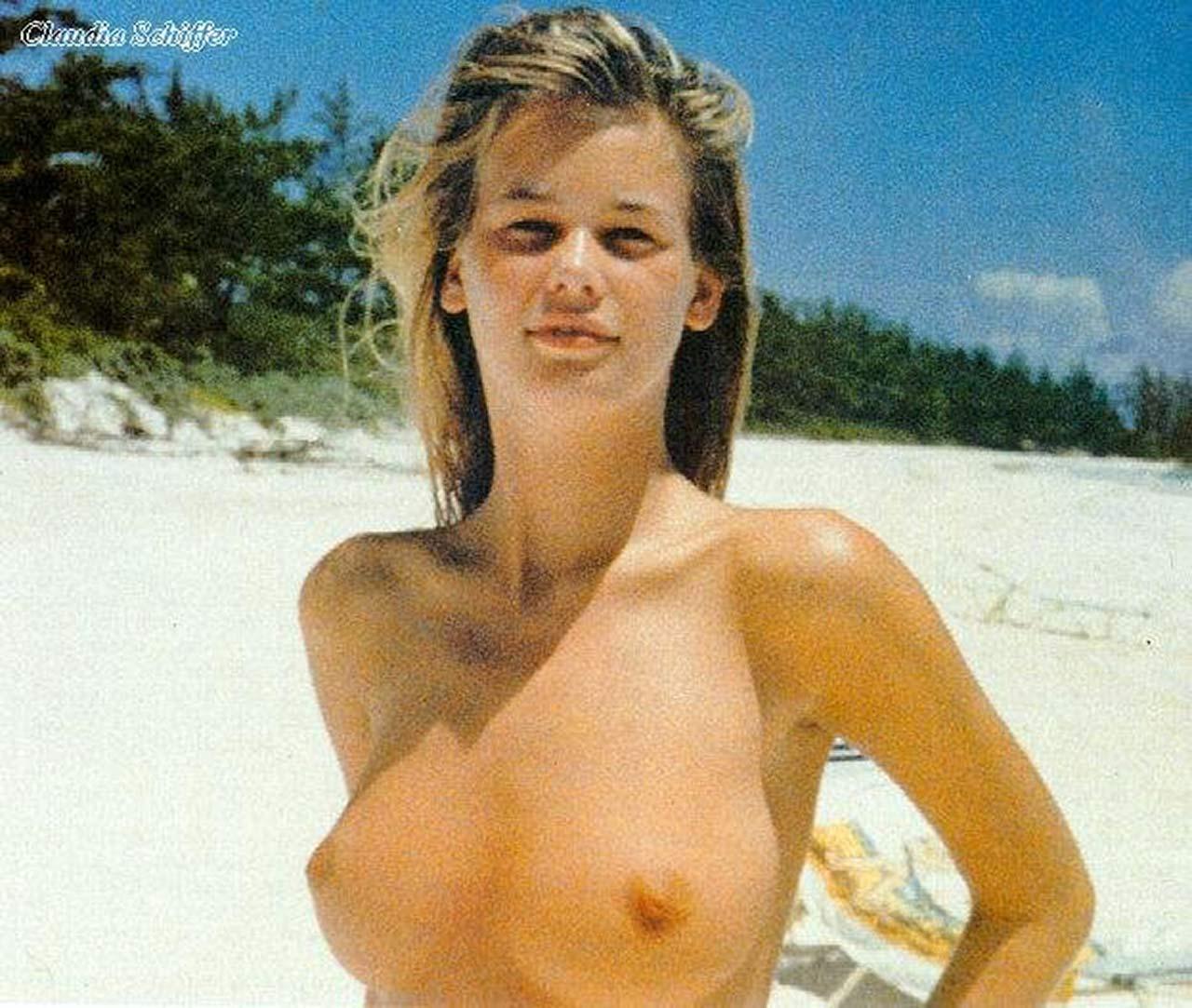 Claudia Schiffer Sex Tape claudia schiffer nude candids and professional pics