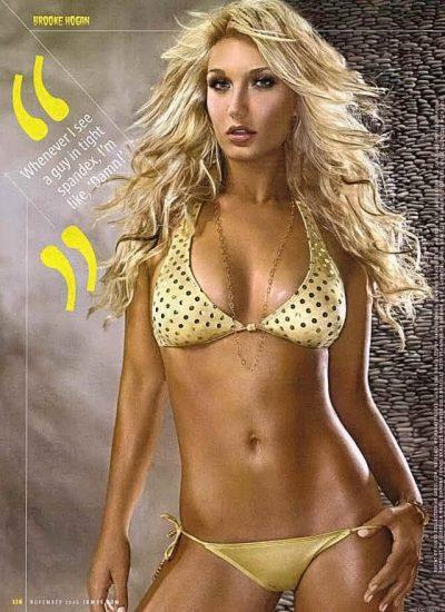 Brooke Hogan Nude LEAKED Pics & Blowjob Sex Tape 50