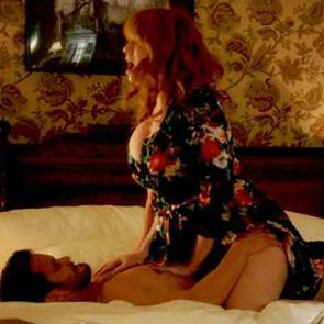 Christina hendricks sex tape