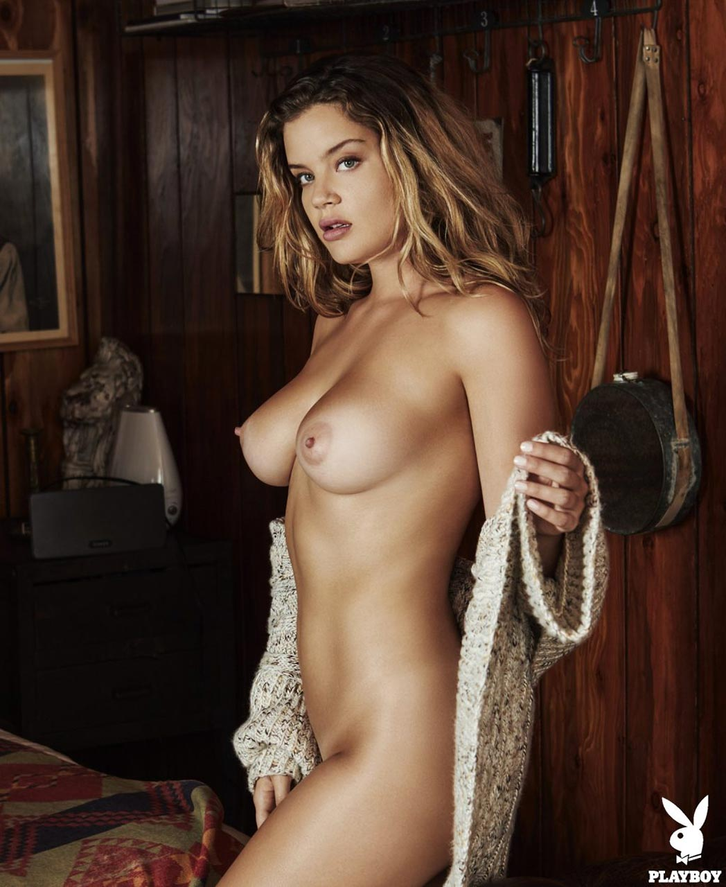 Naked playboy