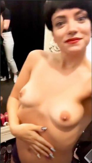 Lily Allen nude porn