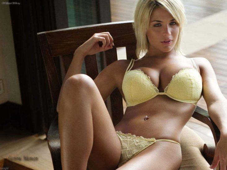 Gemma Atkinson Nude LEAKED Pics & Lesbian Porn Video 25