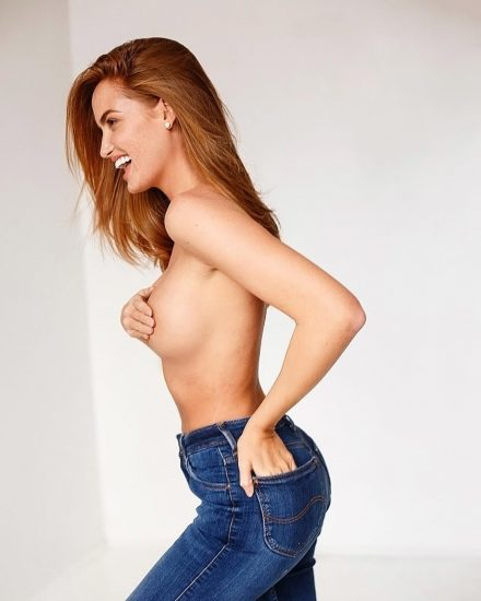 Haley Kalil Nude in LEAKED Porn & Topless Photos 34