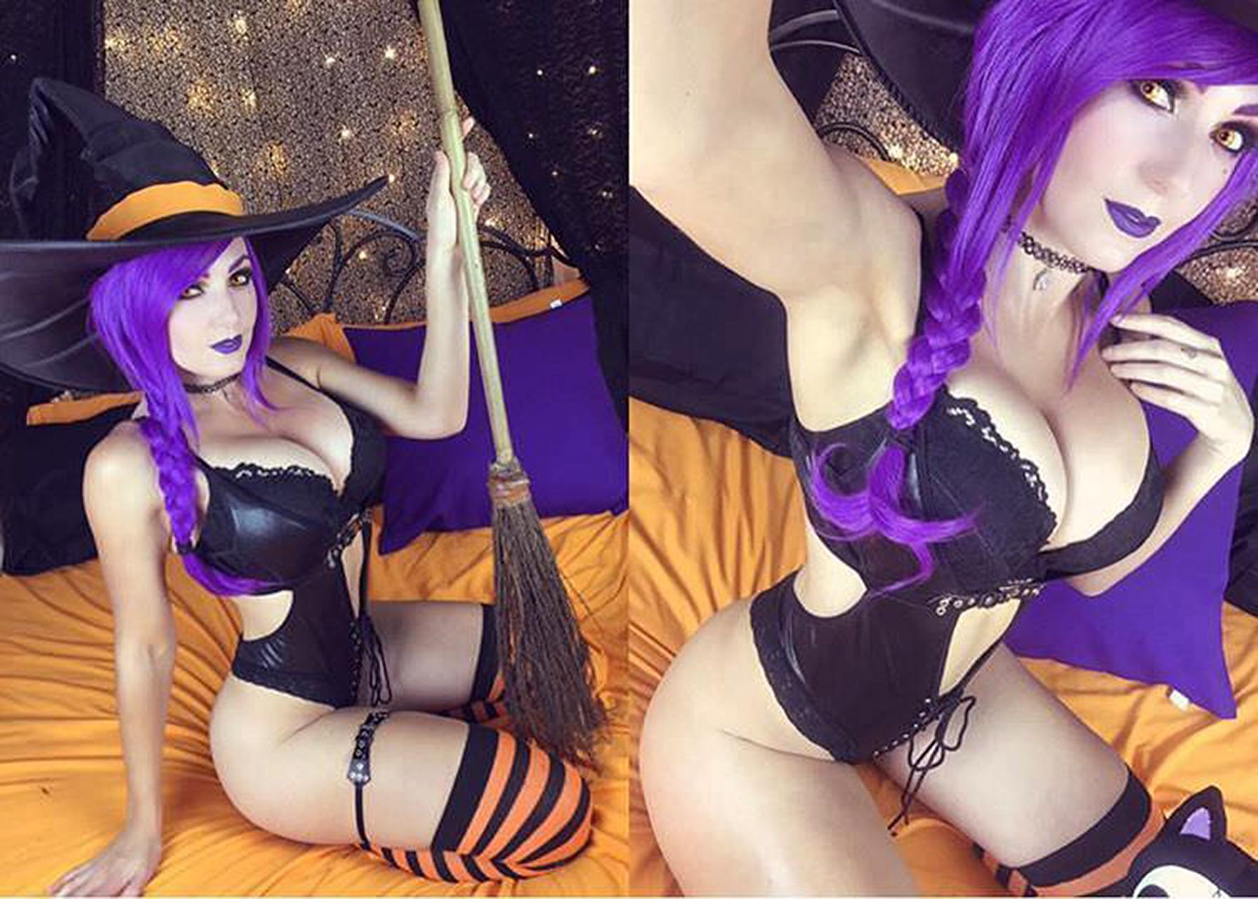 sexiest cosplay nigri Jessica