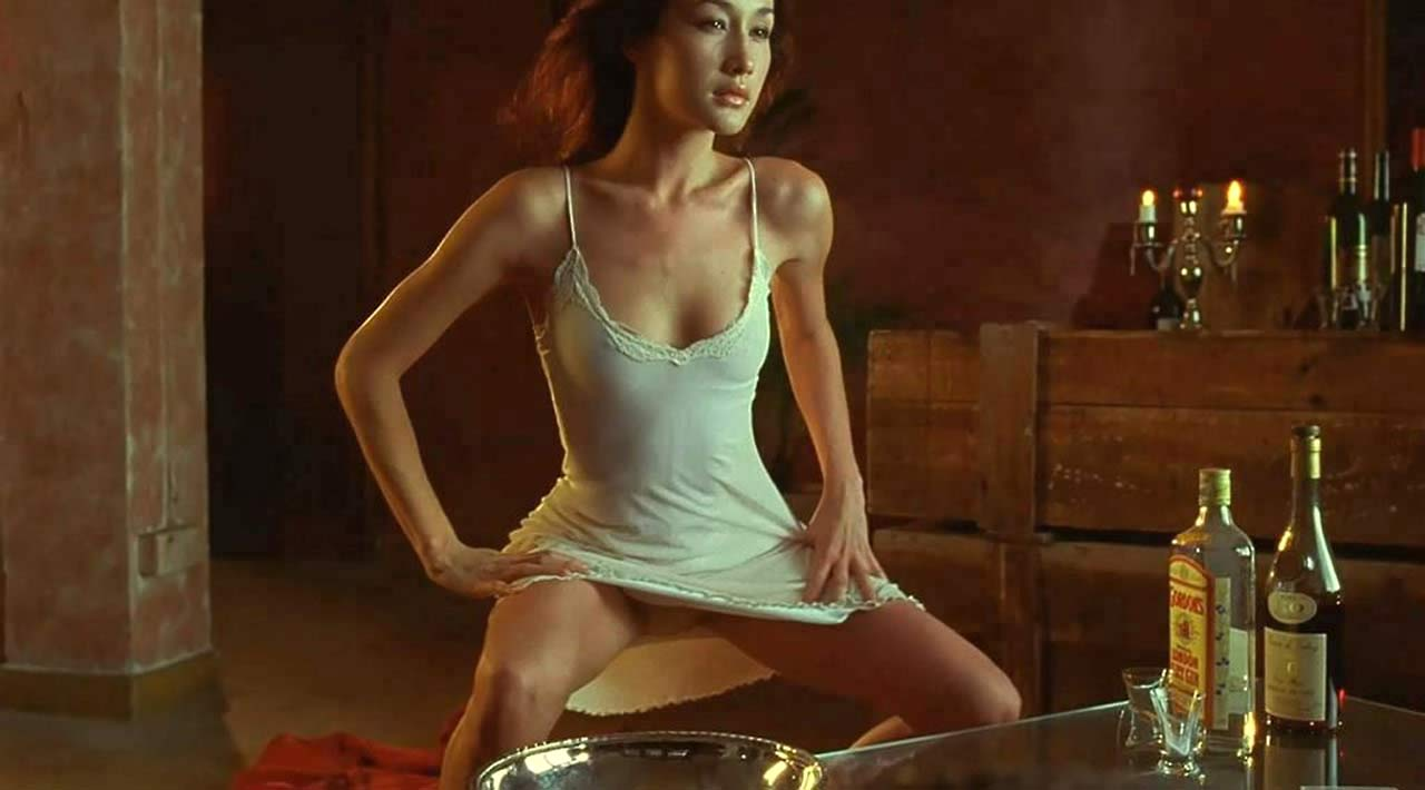 New Sex Pics maggie q naked video clips
