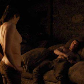 Maisie Williams topless