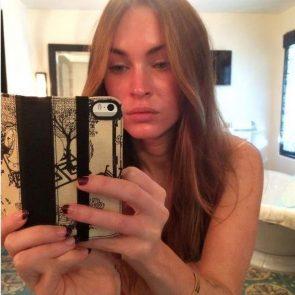 Megan Fox topless selfie
