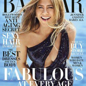 Jennifer Aniston sexy for Harper Bazaar