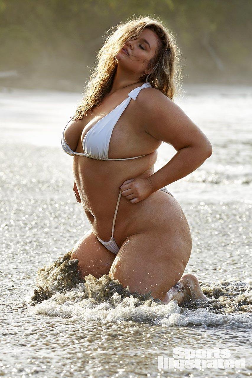 Plus size model naked