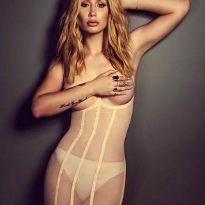 iggy azalea topless covered