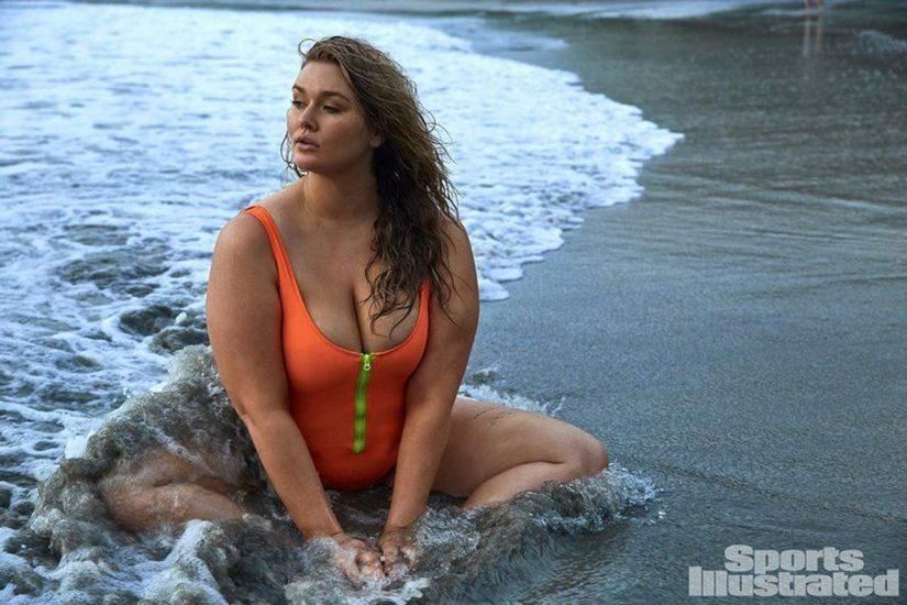 Hunter McGrady Nude Pics & Topless for Sports Illustarted 50