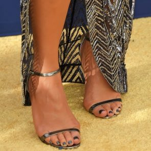 Chrissy Teigen feet and toes