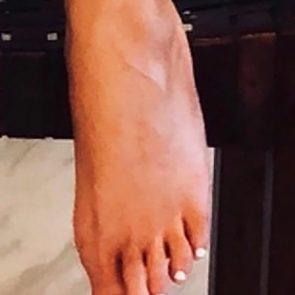 Chrissy Teigen feet from twitter