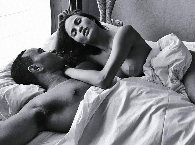 Chrissy Teigen topless with john legend