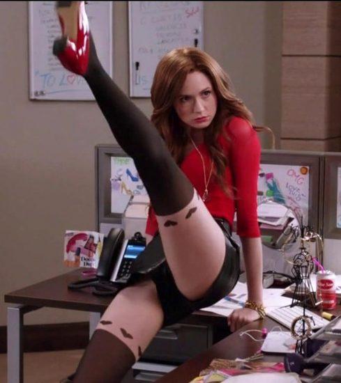 Karen Gillan long legs
