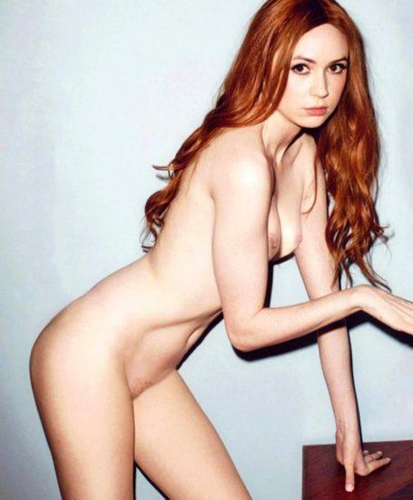 Karen Gillan Nude LEAKED Pics, Porn and Sex Scenes Compilation 9