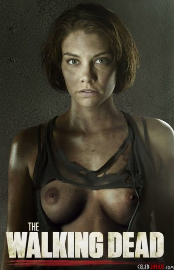 lauren cohan topless fake