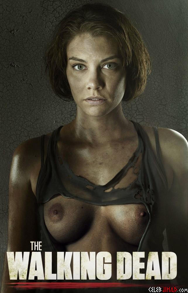 Lauren cohan boobs