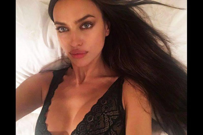 Irina Shayk cleavage