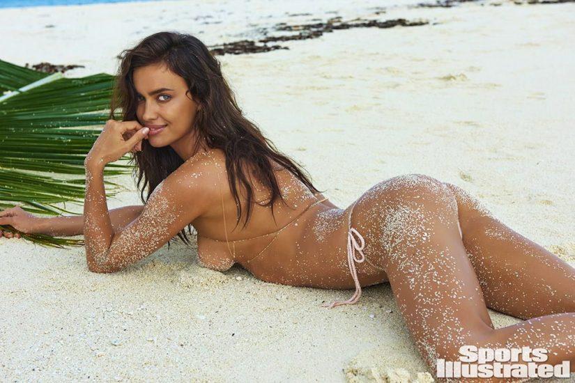Irina Shayk topless for si