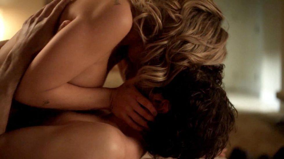 Addison Timlin tits in sex scene