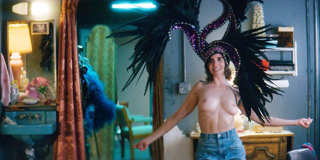 Alison brie topless glow