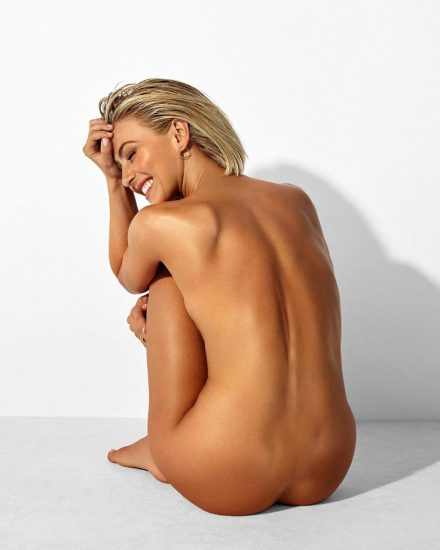 Julianne Houghnaked from behind