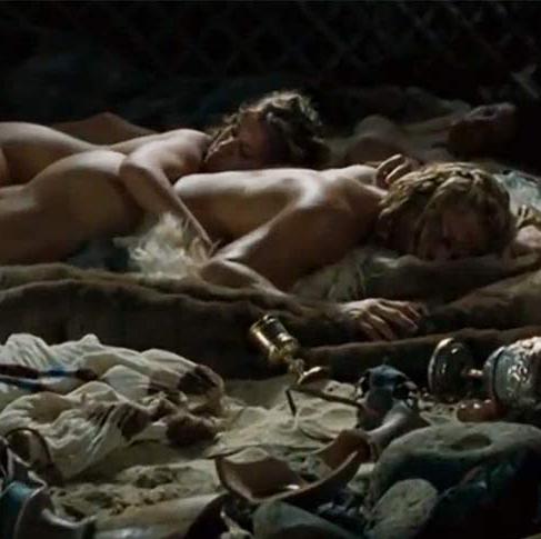 brad pitt troy sex scene
