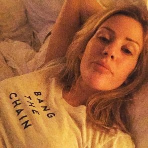 Ellie Goulding with no makeup