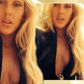 Ellie Goulding hot deep cleavage