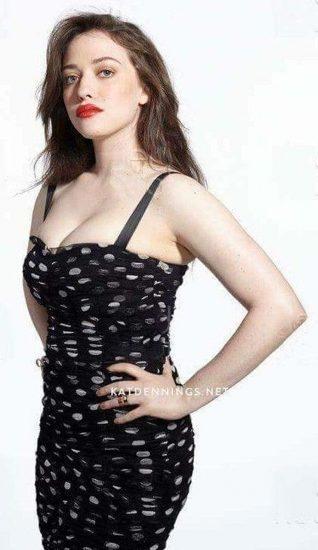 Kat Dennings tits in cleavage
