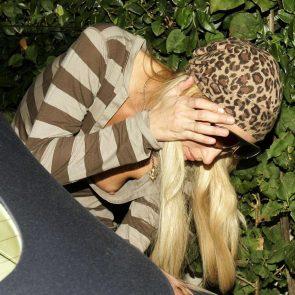 Paris Hilton nip slip