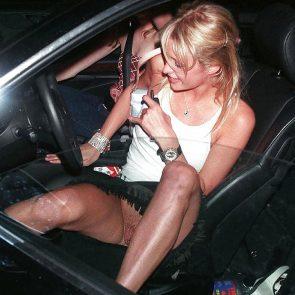 Paris Hilton hairy pussy