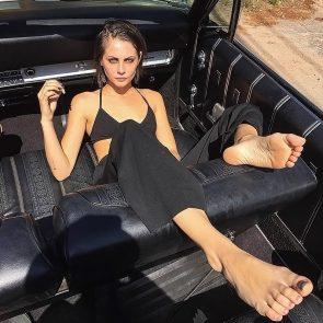 Willa Holland feet