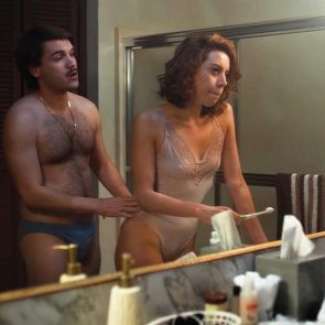 Aubrey Plaza lingerie hot scene