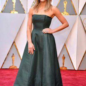 Charissa Thompsonsexy green dress