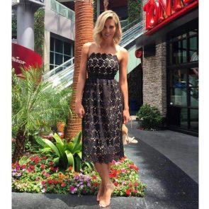 Charissa Thompsonsexy dress